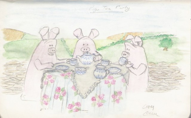 The Pigs Tea Party